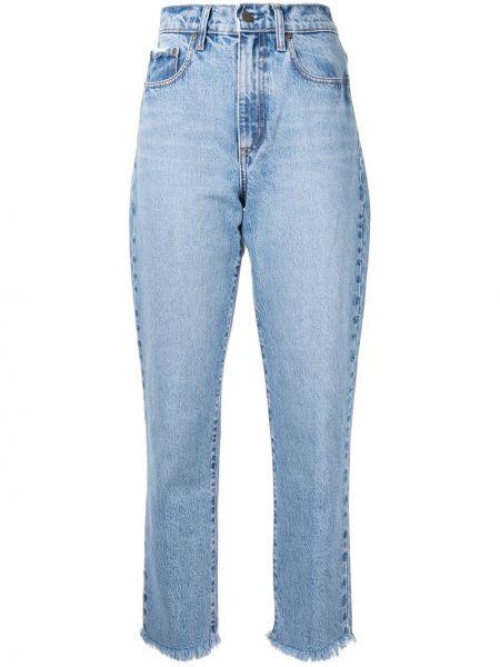 Прямые джинсы mom синие Nobody Denim