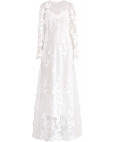 Платье миди с V-образным вырезом A La Russe