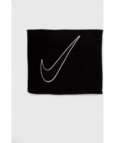Czarny szalik dzianinowy Nike