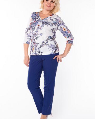 Трикотажная блузка - синяя Virgi Style