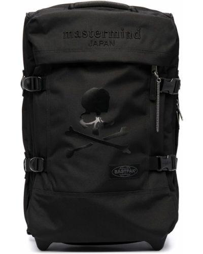 Черная сумка с вышивкой с карманами Mastermind Japan