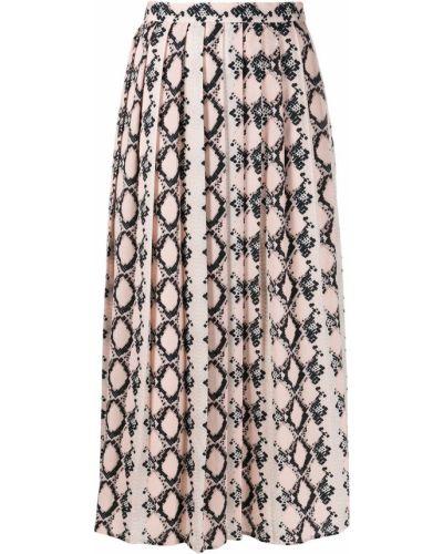 Плиссированная юбка с завышенной талией пачка Sly010