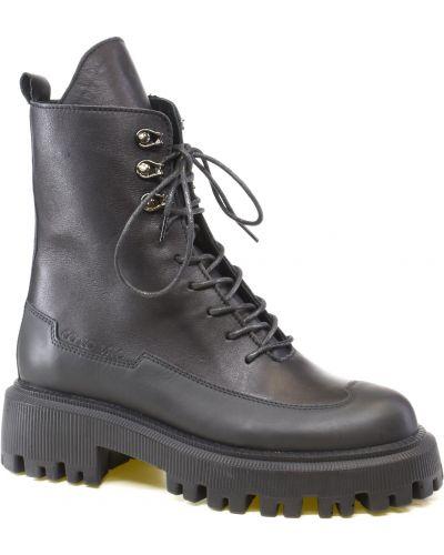 Ботинки на шнуровке - черные Corso Vito