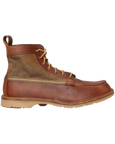 Brązowe botki Red Wing Shoes