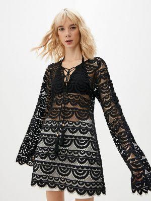 Черное платье летнее Pilyq