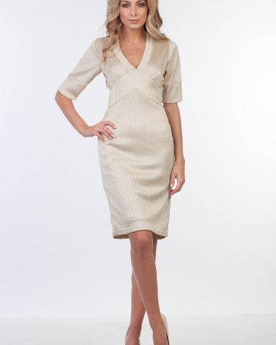 Платье трикотажное лапша Kapsula