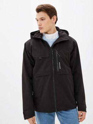 Черная весенняя куртка Didriksons
