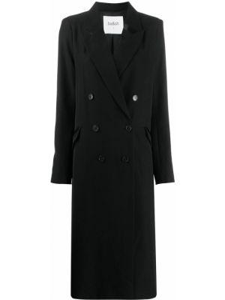 Długi płaszcz zapinane na guziki z kieszeniami Ba&sh