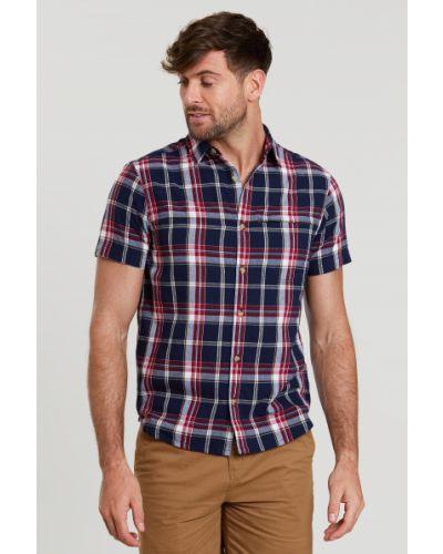 Koszula bawełniana - niebieska Mountain Warehouse