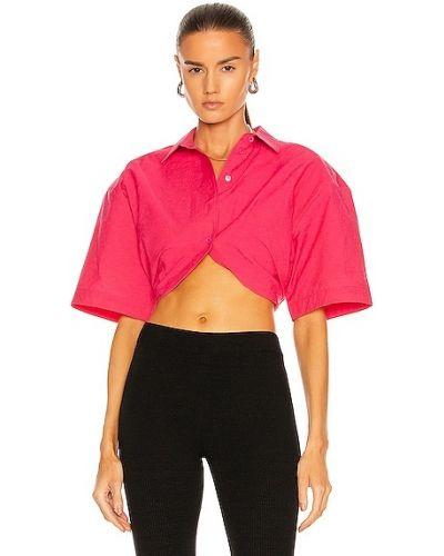 Koszula nocna bawełniana - różowa Jacquemus