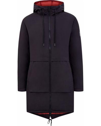 Черная стеганая куртка с воротником Cudgi