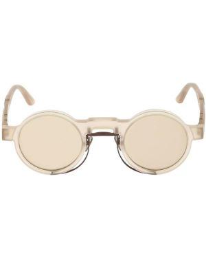 Beżowe okulary Kuboraum Berlin