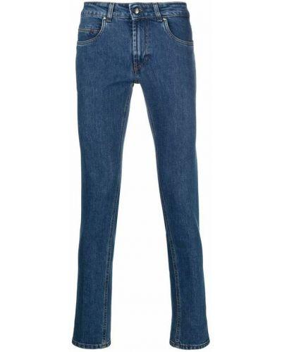 Niebieskie spodnie Fay