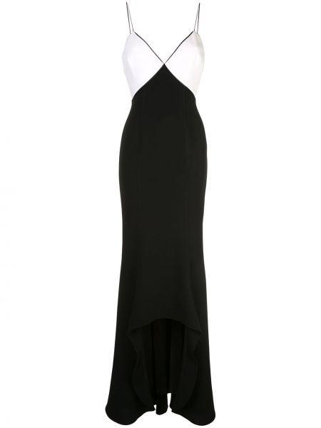 Тонкое платье на бретелях с V-образным вырезом на молнии Cinq À Sept