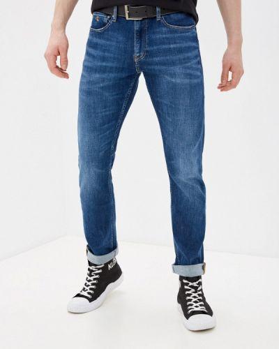 Синие прямые джинсы Calvin Klein Jeans