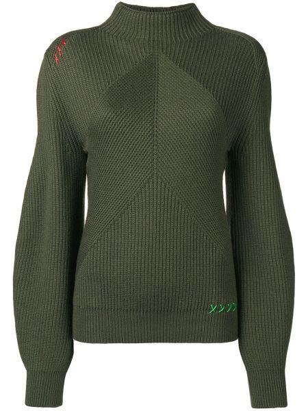 Sweter - zielony Carven