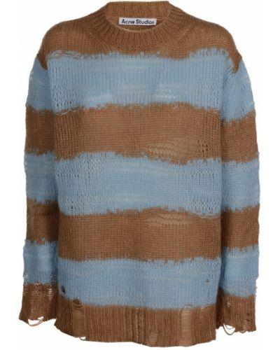 Brązowy sweter Acne Studios