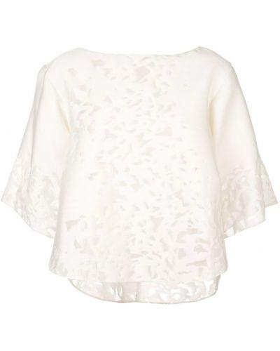 Блузка прозрачная белая Rubin Singer