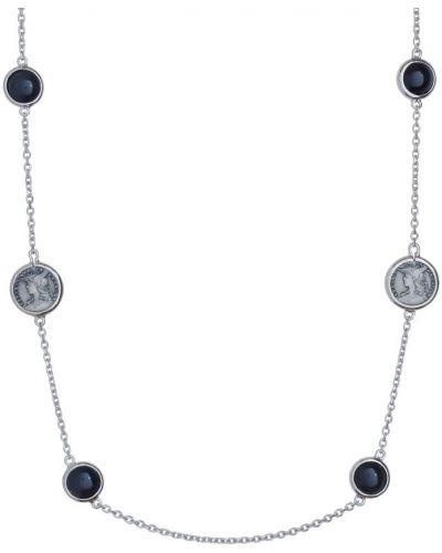 Серое ожерелье круглое со вставками Style Avenue