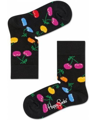 Колготы черные Happy Socks