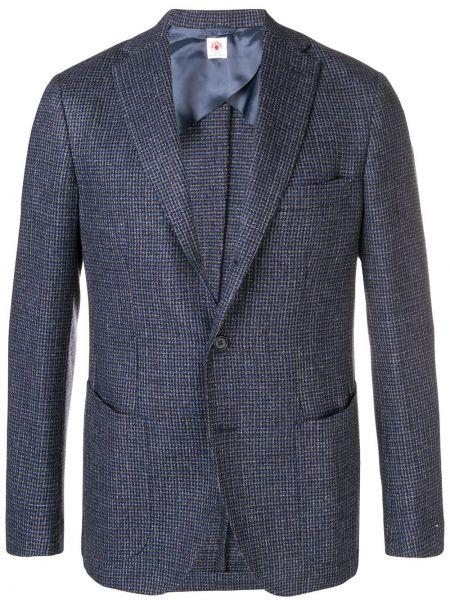 Шерстяной пиджак на пуговицах с манжетами с карманами Borrelli