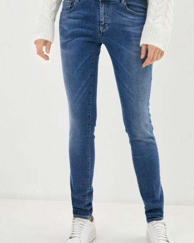 Синие джинсы-скинни узкого кроя Care Label
