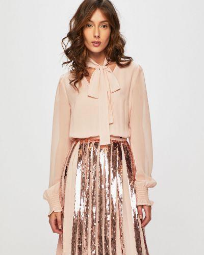 Джинсовое платье с пайетками с поясом Trussardi Jeans