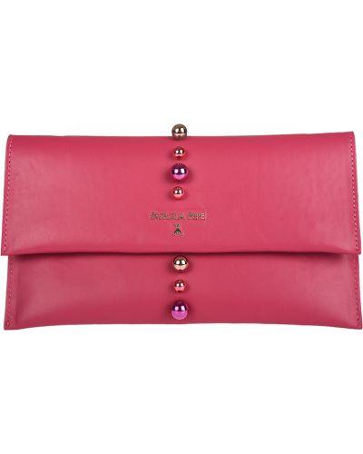 Розовый клатч Patrizia Pepe