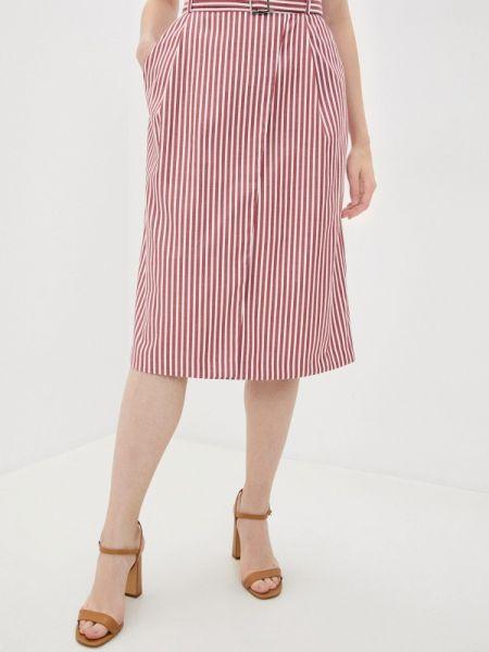 Красная юбка свободного кроя Annborg