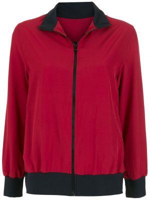 Красная куртка с высоким воротником Lygia & Nanny