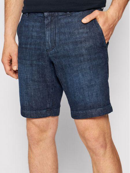 Szorty jeansowe - granatowe Tommy Hilfiger