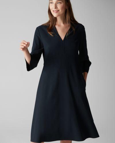 Платье миди с V-образным вырезом с вырезом Marc O`polo