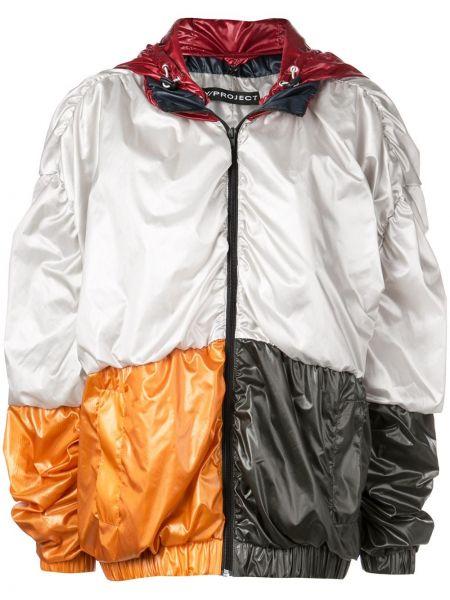 Оранжевая куртка с капюшоном на молнии Y/project