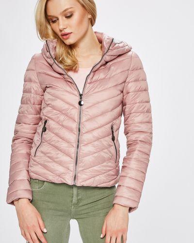 Утепленная куртка с капюшоном укороченная Answear