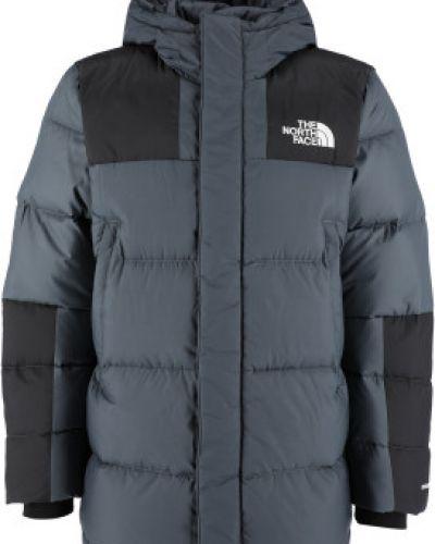 Городская серая куртка на молнии The North Face