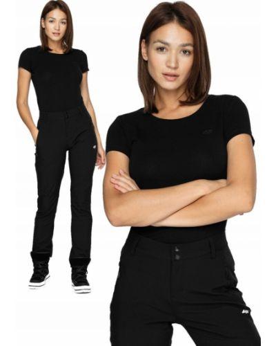 Bawełna bawełna czarny t-shirt 4f