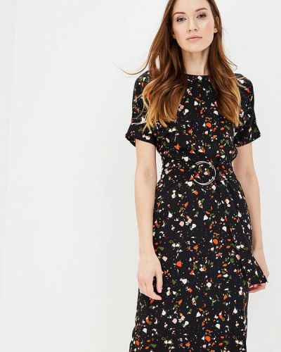Черное платье весеннее Warehouse
