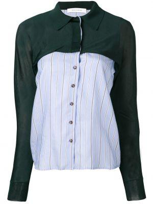 Klasyczna koszula bawełniana w paski z długimi rękawami Cedric Charlier