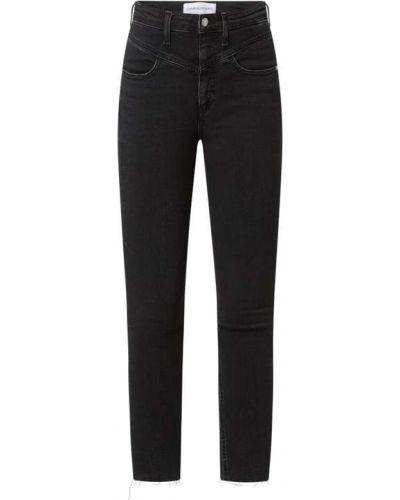 Czarne jeansy skinny Calvin Klein Jeans