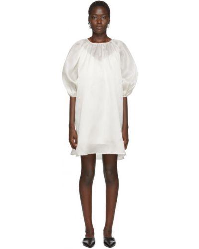 Платье с отложным воротником шелковое Arch The