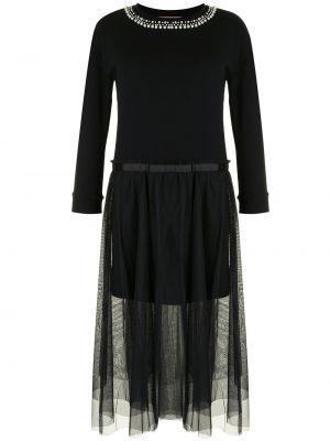 Вязаное платье - черное Twin-set
