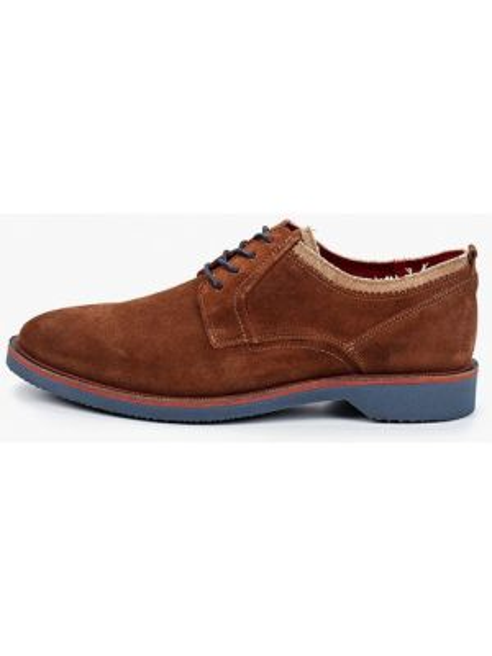 Кожаные коричневые туфли Wojas