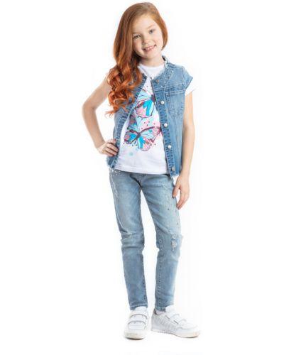 Жилет джинсовый синий Playtoday Kids
