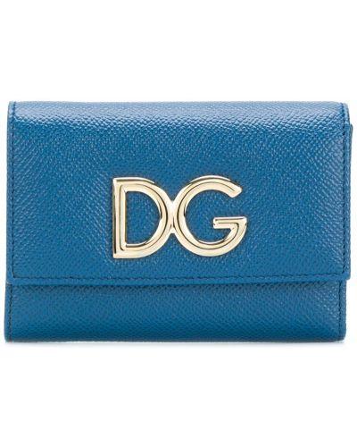 Кожаный кошелек для монет мини Dolce & Gabbana