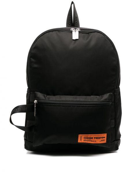 Czarny plecak Heron Preston