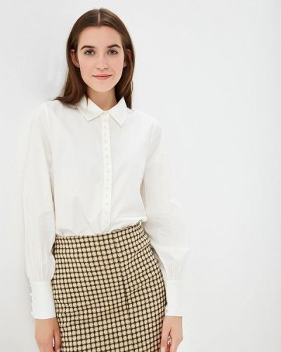 Блузка с длинным рукавом осенняя белый Only