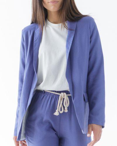Льняной пиджак - фиолетовый Wear Me