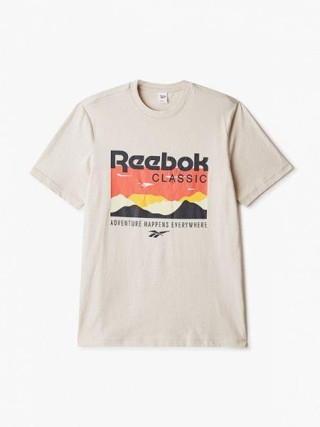 Поло бежевый классическое Reebok Classics