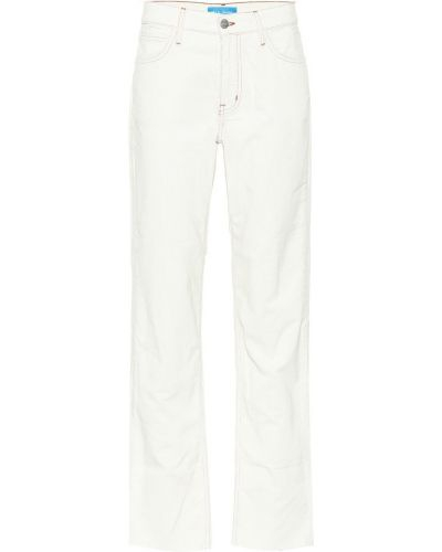 Брюки вельветовые белые Mih-jeans