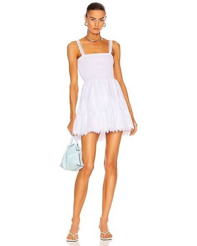 Белое хлопковое платье Charo Ruiz Ibiza